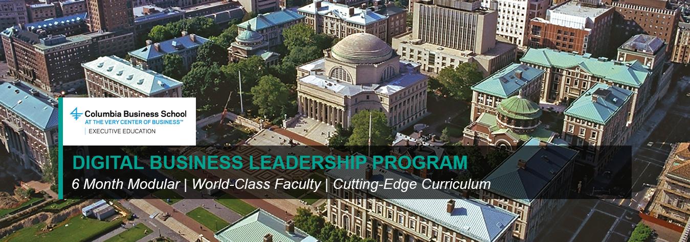 Digital Business Leadership Program